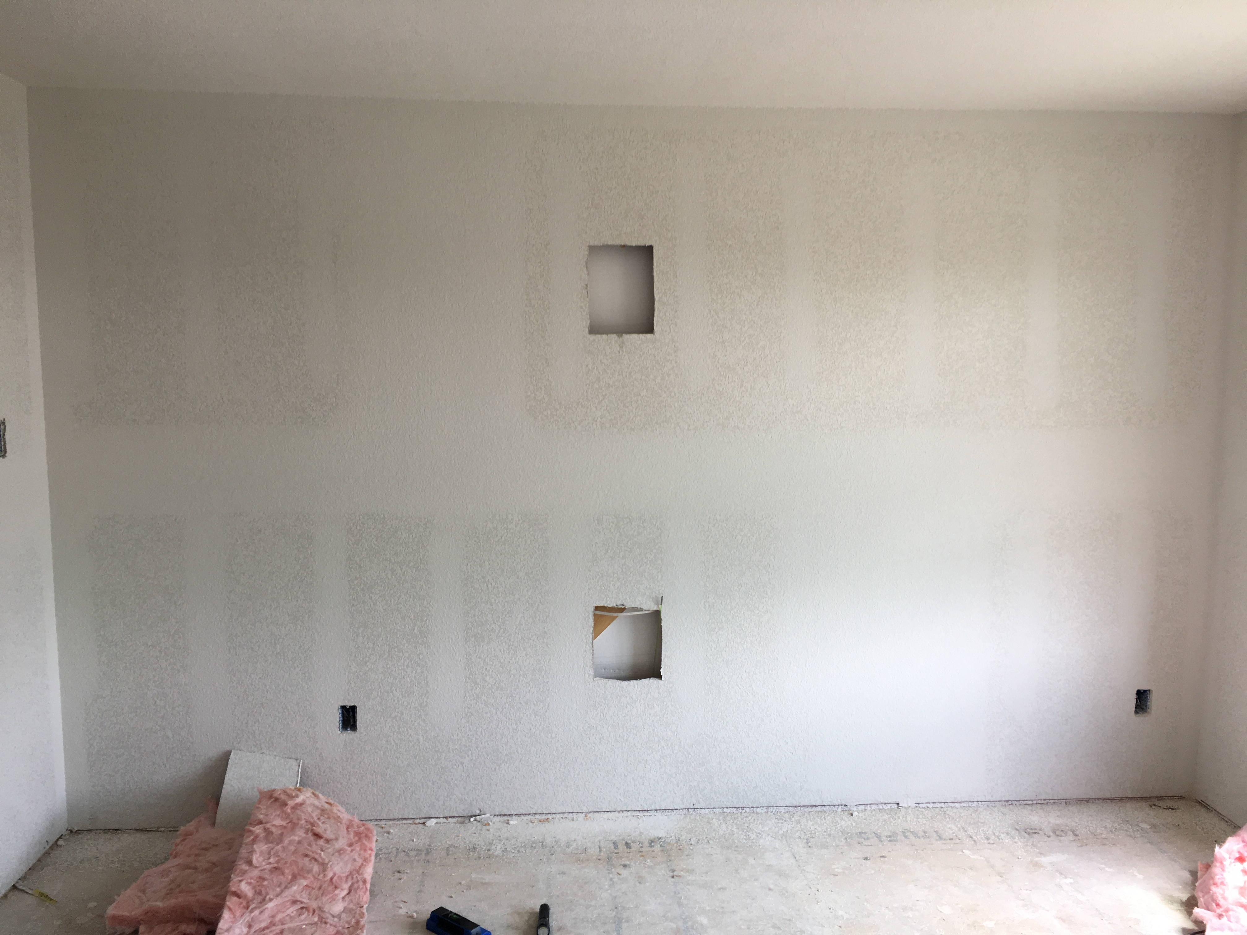 Wire Run to First Floor of the House After Walls – Audio Visual Up