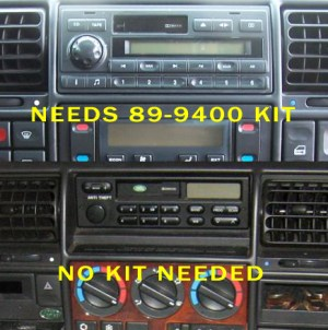 1997 Land Rover Discovery Headunit Audio Radio Wiring