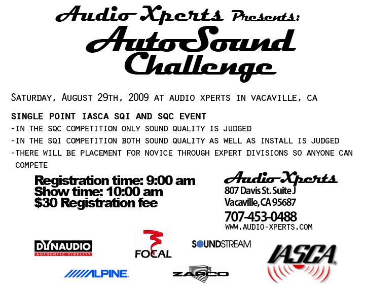 autosound challenge(2)