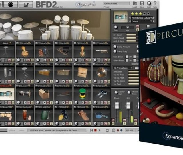 Fxpansion Bfd Percussion Expansion Pack Hybrid Dvdr Airiso Screenshot