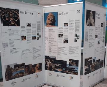 Exposició RELIGIONS DEL MÓN, PAU MUNDIAL, ÈTICA UNIVERSAL a Sant Adrià de Besòs