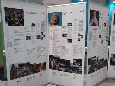 Exposició RELIGIONS DEL MÓN, PAU MUNDIAL, ÈTICA UNIVERSAL