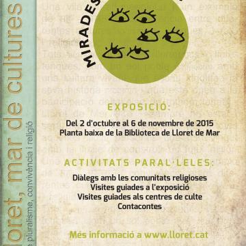 Exposició Mirades en Diàleg a Lloret de Mar