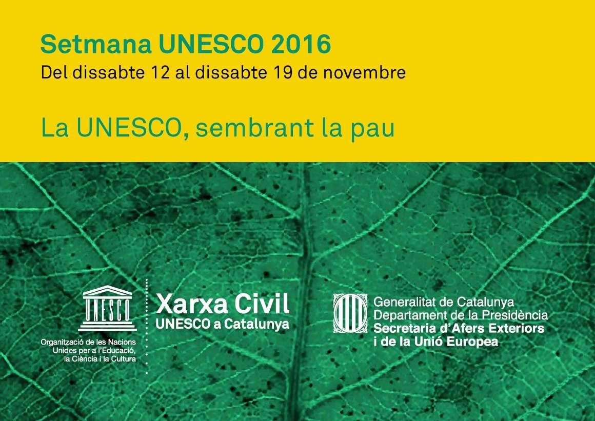 Setmana UNESCO 2016