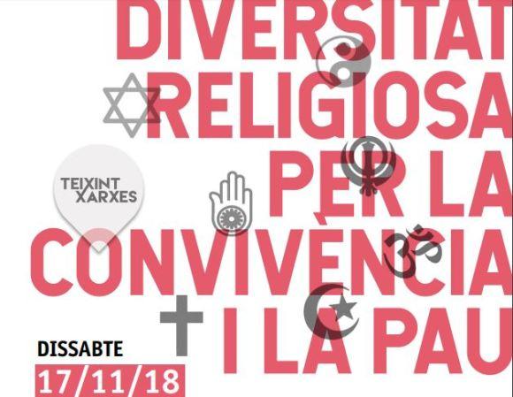 "Jornada interreligiosasobre "" Diversitat religiosa per la pau i la convivència""-17/11/18"