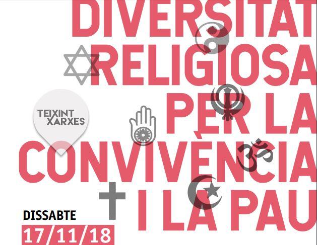 Jornada interreligiosasobre » Diversitat religiosa per la pau i la convivència»-17/11/18
