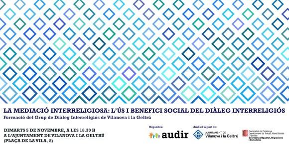 Formació sobre diàleg interreligiós a Vilanova i la Geltrú