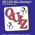 17 de desembre – Quizz interreligiós