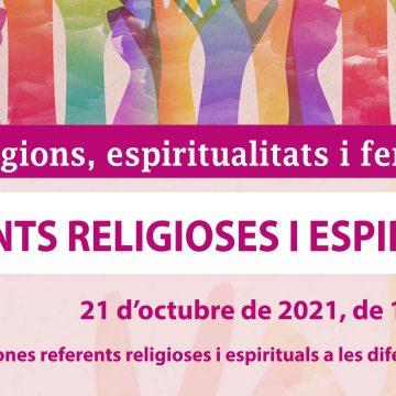 21 d'octubre – 'Referents religioses i espirituals' · 4t acte del Cicle Religions, Espiritualitats i Feminismes