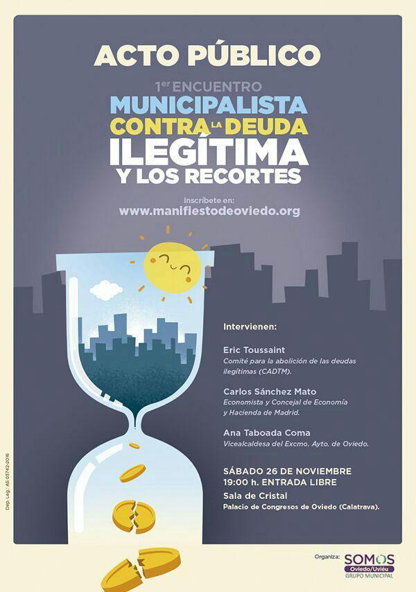 Encuentro Municipalista Contra La Deuda Ilegítima Y Los Recortes – 25 Y 26/11/2016