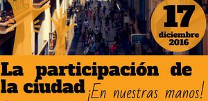 FRAVM – Jornada Modelo De Participación Ciudadana. Madrid 17/12/2016.