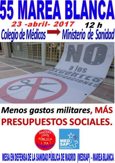 Cartel_55 Marea Blanca_2017-04-23