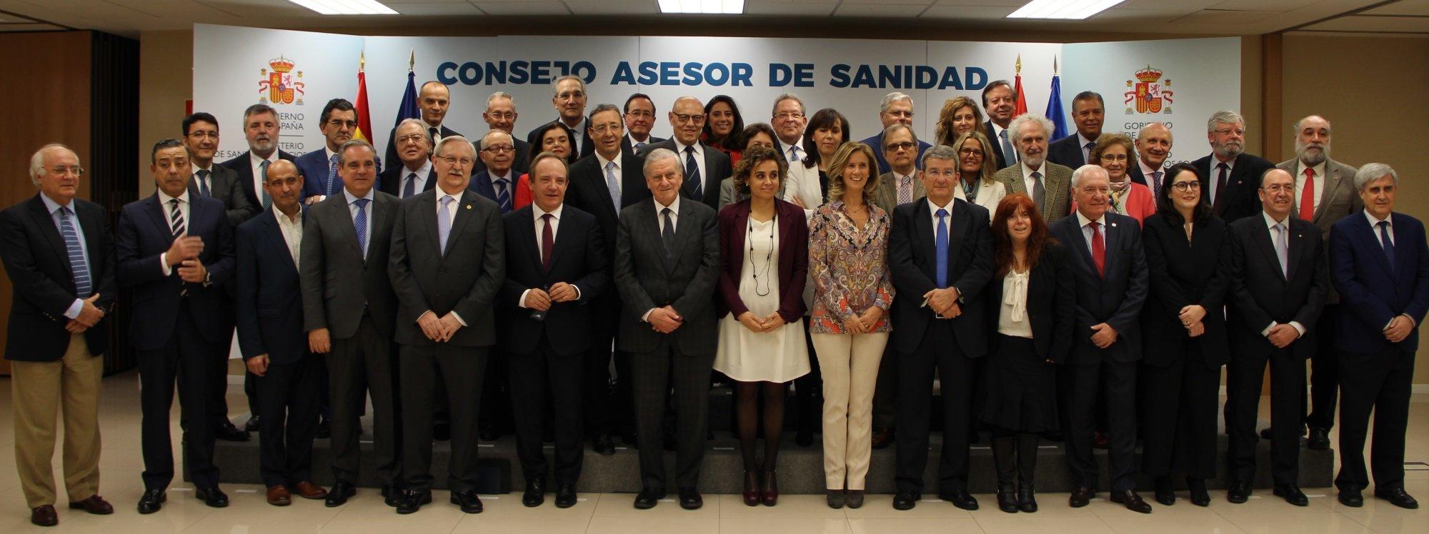 Foto Consejo Asesor Del Mº De Sanidad 2018