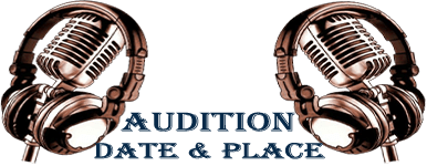 logo audition Date and place