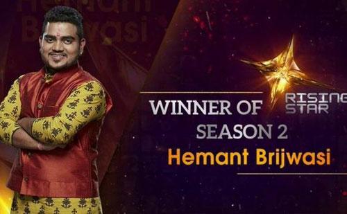 Rising Star Winner Season 2: Hemant Brijwasi