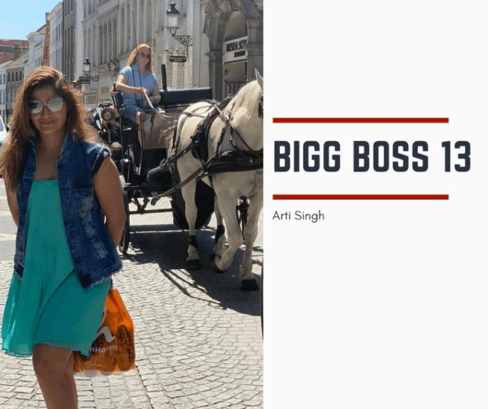 Arti Singh Bigg Boss 13 Contestant
