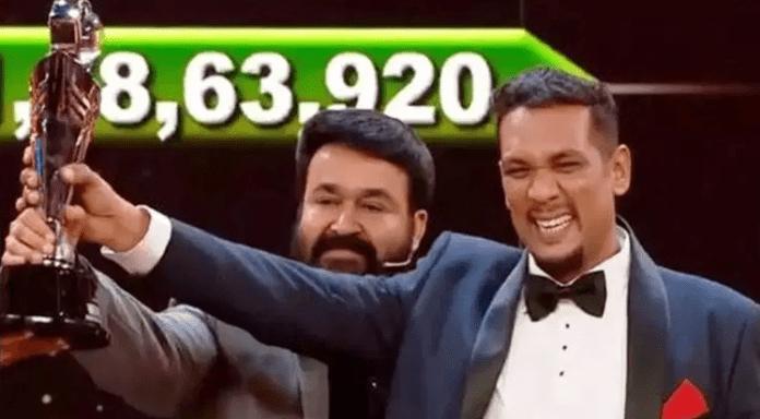 Sabumon Abdusamad Bigg Boss Malayalam Season 1 Winner