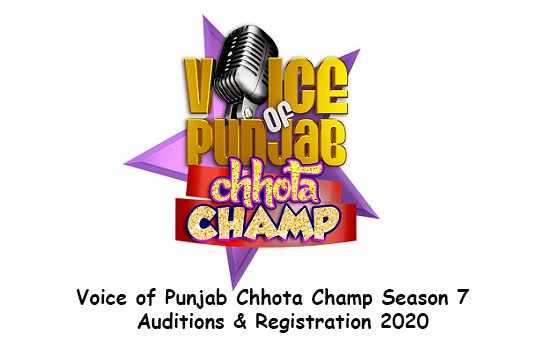 Voice Of Punjab Chhota Champs Season 7 Audition Dates & Registration