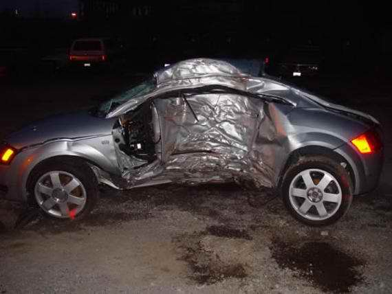 Pictures of Audi TT accidents crashes  collisions  Audi TT Mk1 8n Tuning  Parts  Accessories