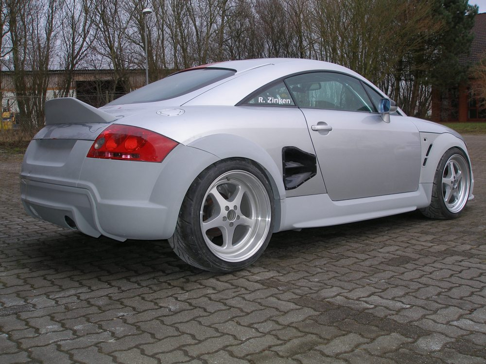 medium resolution of 2000 audi tt body kit