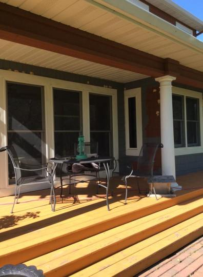 Pack Porch Dining BEFORE