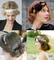 1920's updo in 5 minutes
