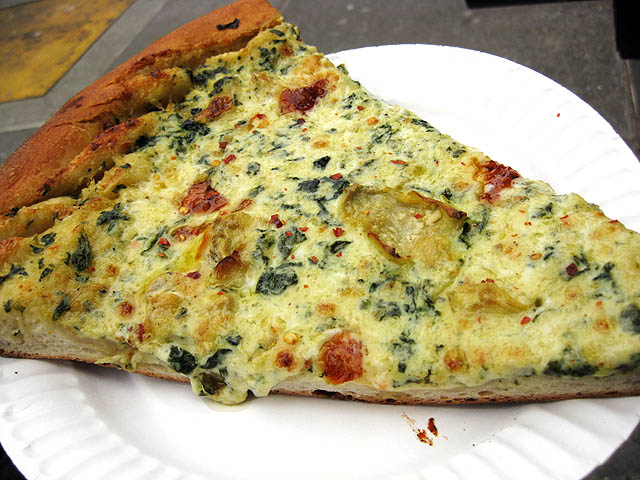 Artichoke Pizza - c/o Veggie Wala