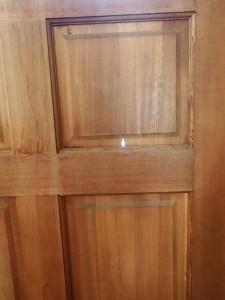 Cracked Door