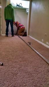Stretch that carpet.