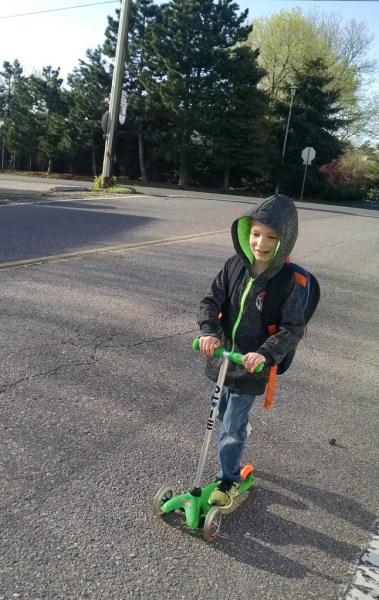 Scootin' to School