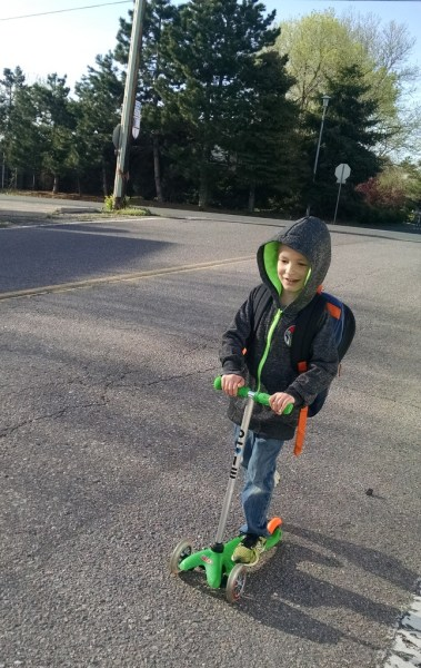 Scootin' to School