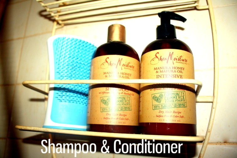 AudreyCan - Wash Day Diaries - Autumn 2015 -Shampoo & Condition 1