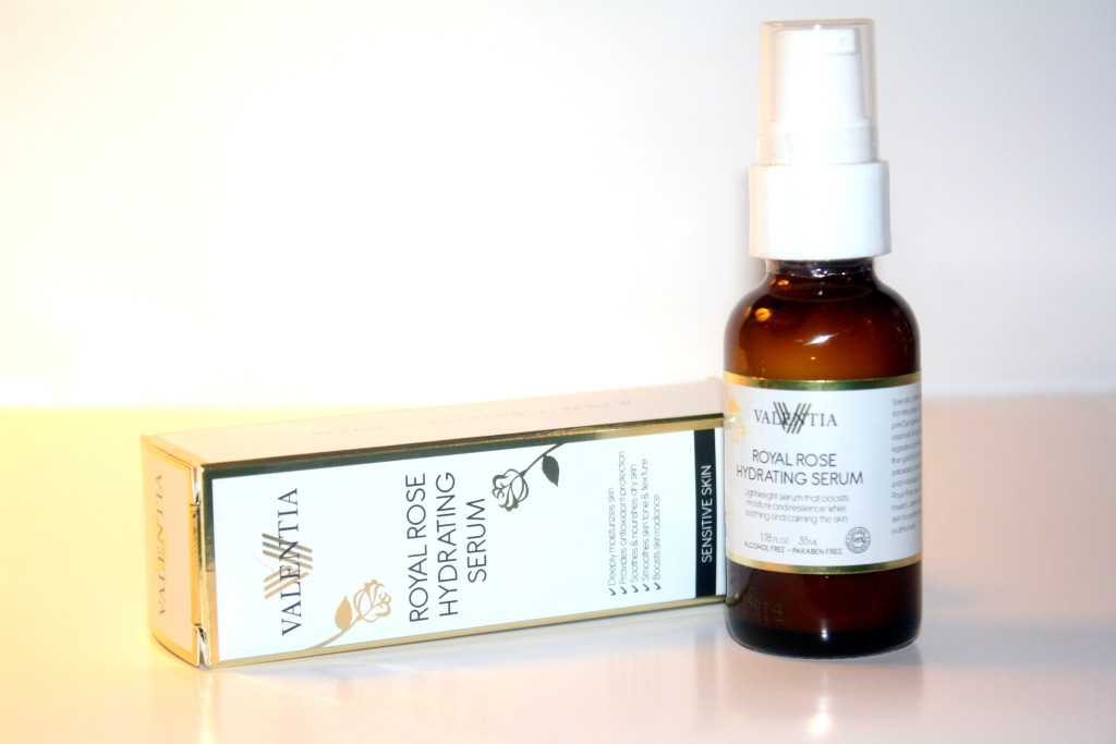 At Home Spa Day: Valentia Royal Rose Hydrating Serum Review