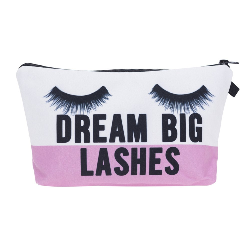 "Wanna Wanna Wednesday: ""Dream Big"" Makeup Tote from Giggles & Glampagne"