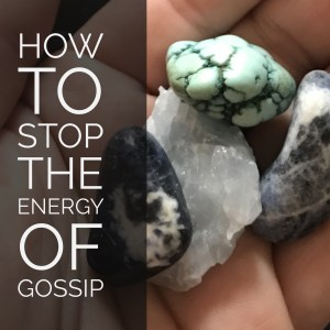 How to Stop the Energy of Gossip