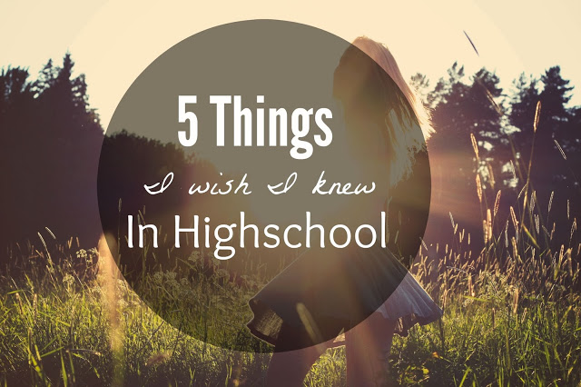 high school things to know