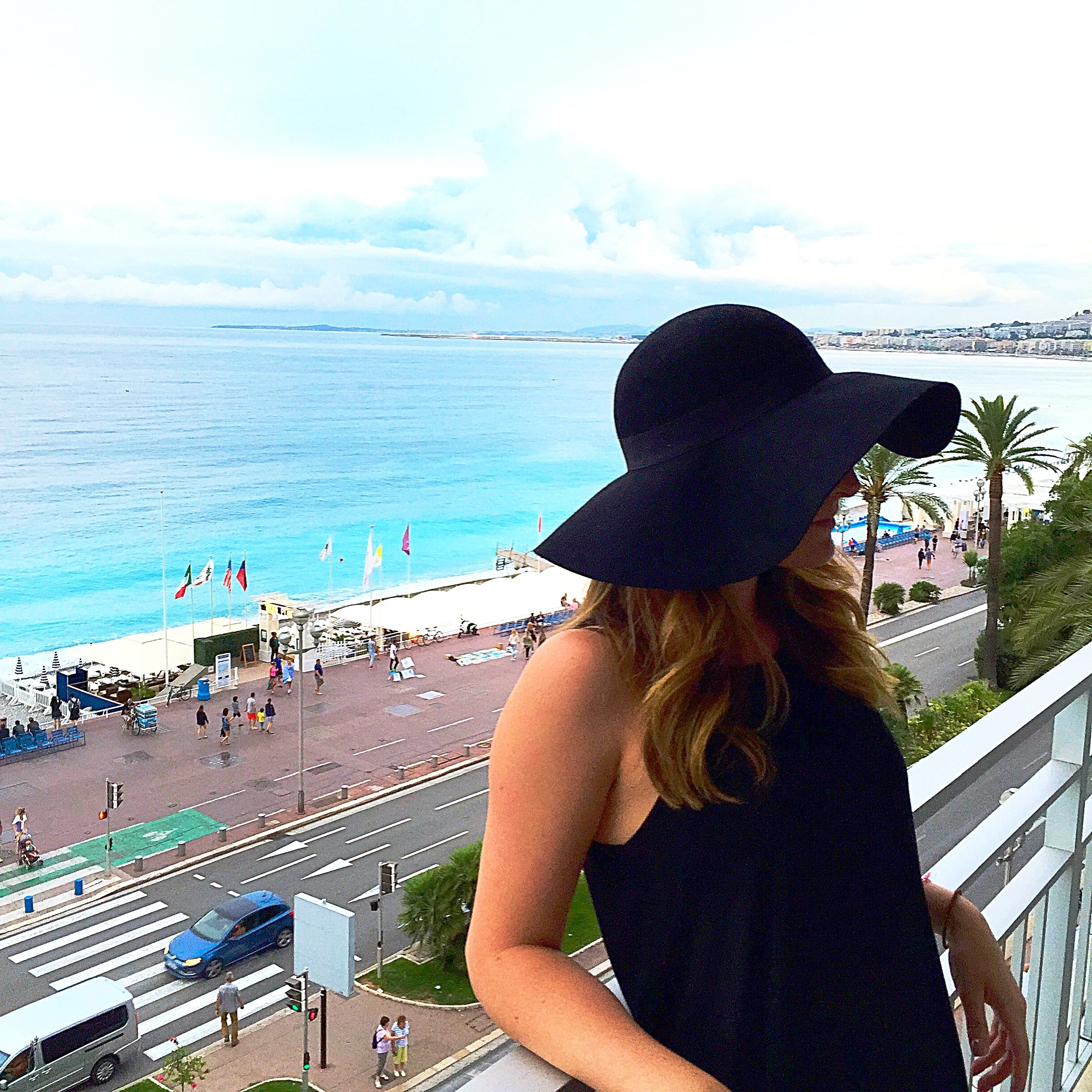 blogger in Nice, France 2015