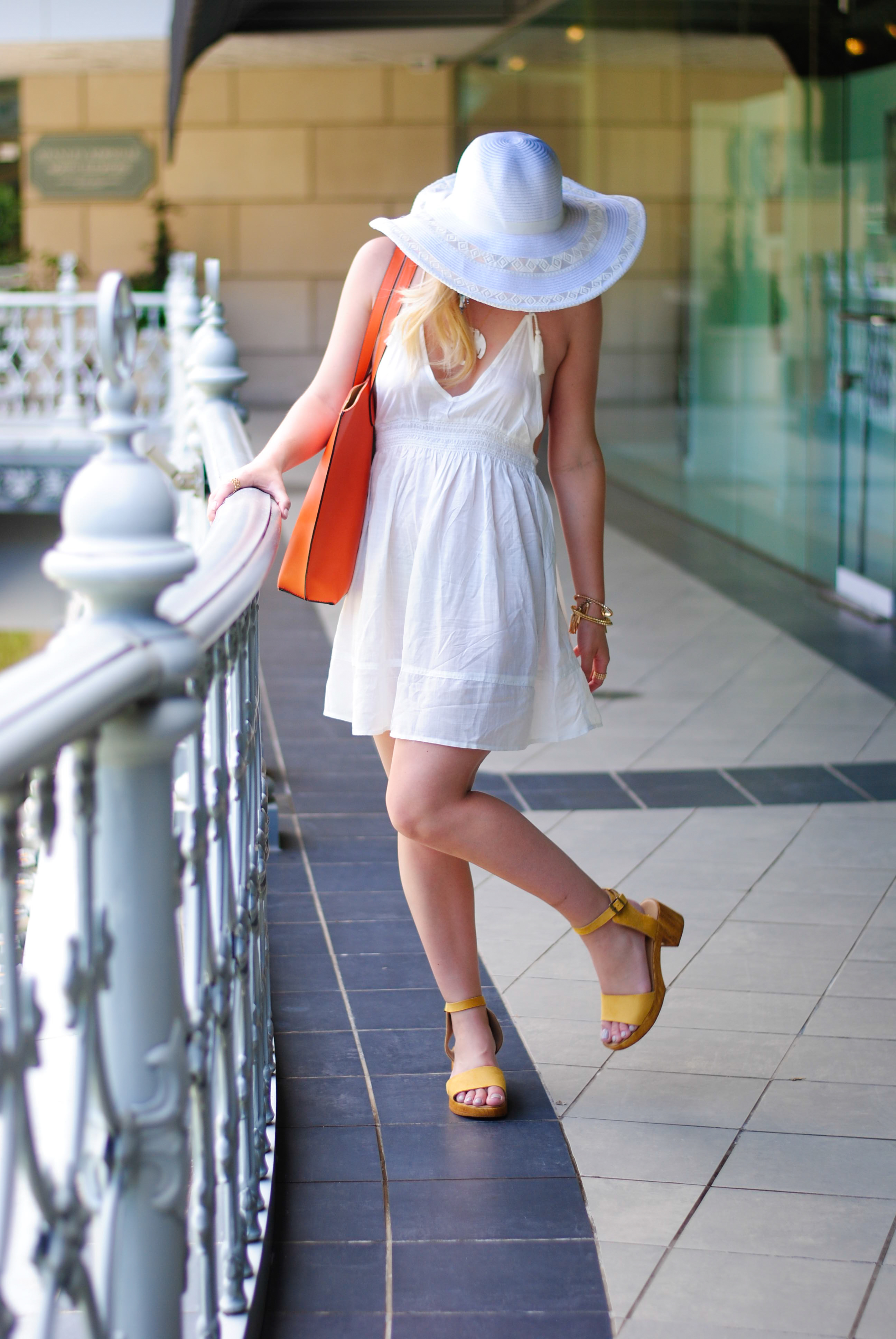 vacation outfit with Topshop | Audrey Madison Stowe Blog
