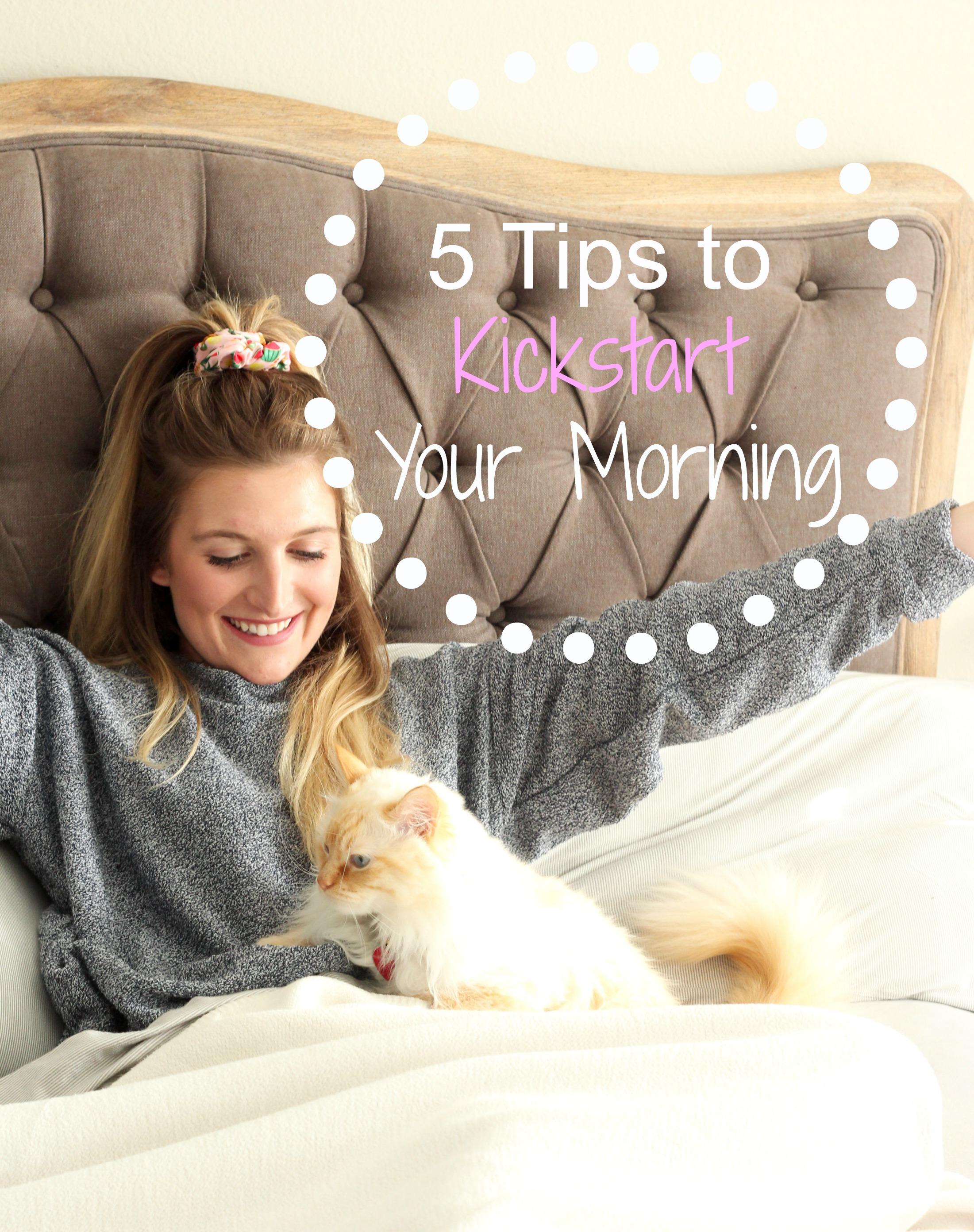 5 Tips to Kickstart your Morning   AMS Blog