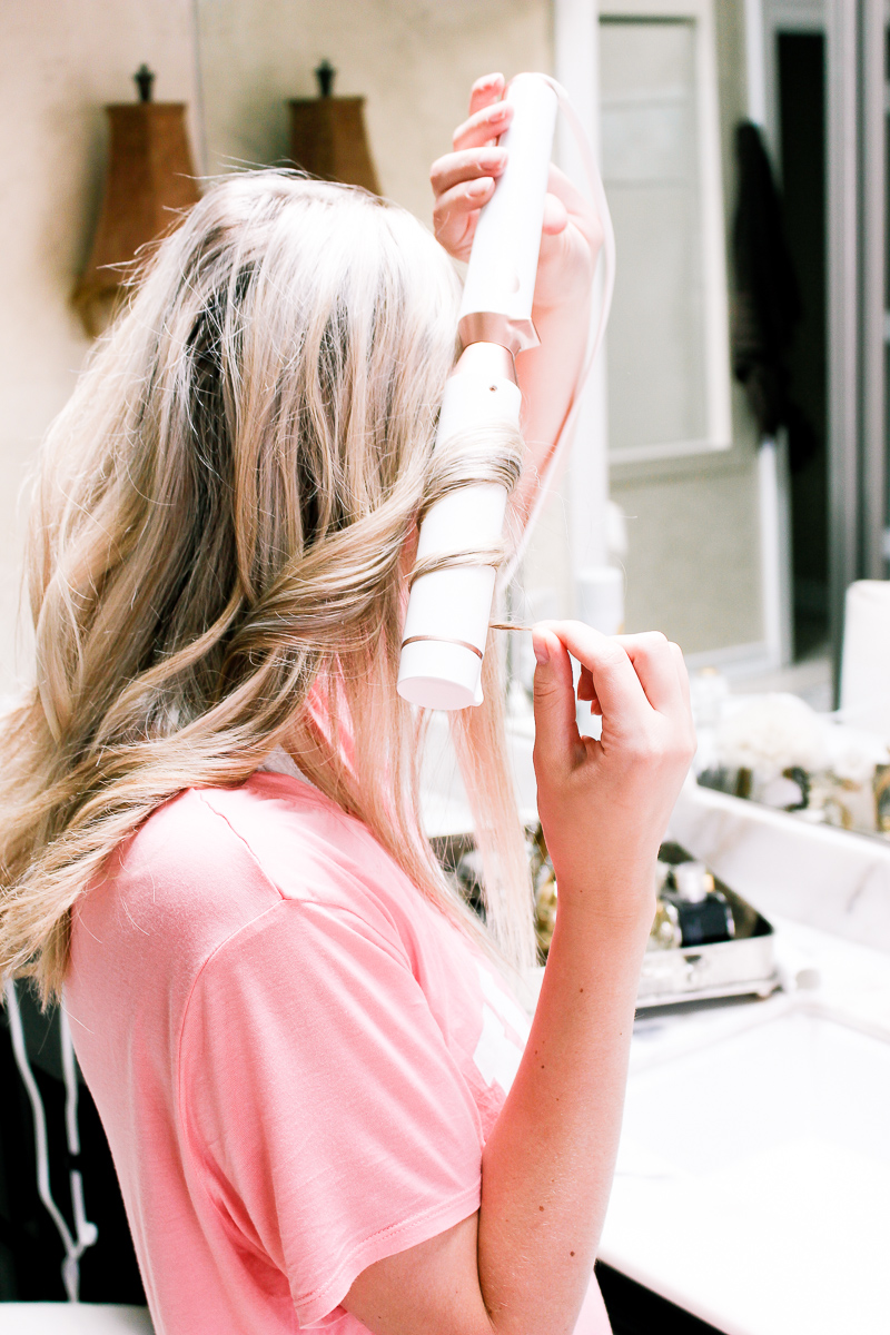 How I Get Tousled Curls For Summer   T3 Micro   Texas based lifestyle and fashion blogger Audrey Madison Stowe