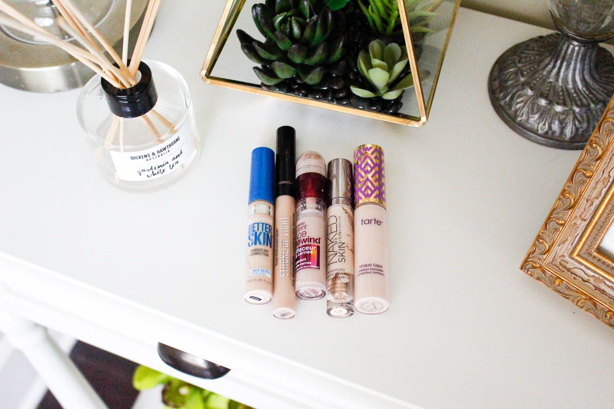 Top 5 Concealers | Fall face coverage | Audrey Madison Stowe a fashion and beauty blogger based in Texas