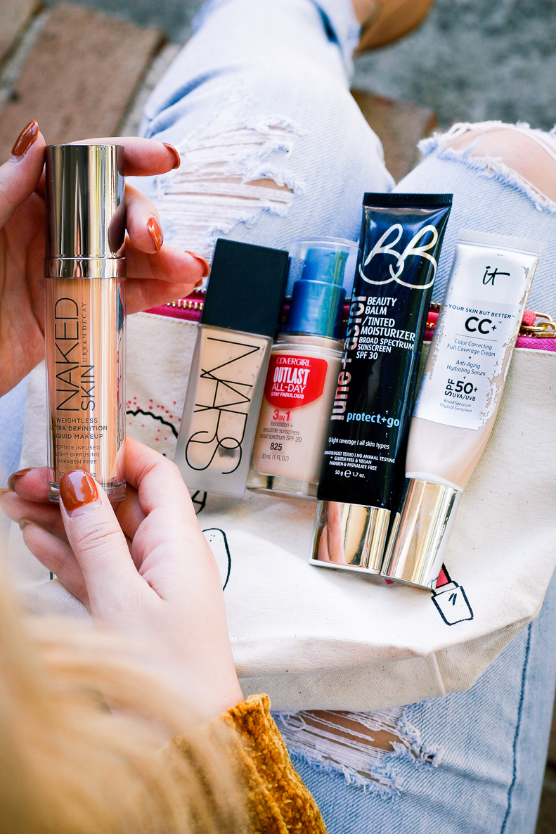 Top 5 foundations | Drugstore to high-end | Audrey Madison Stowe a fashion and lifestyle blogger