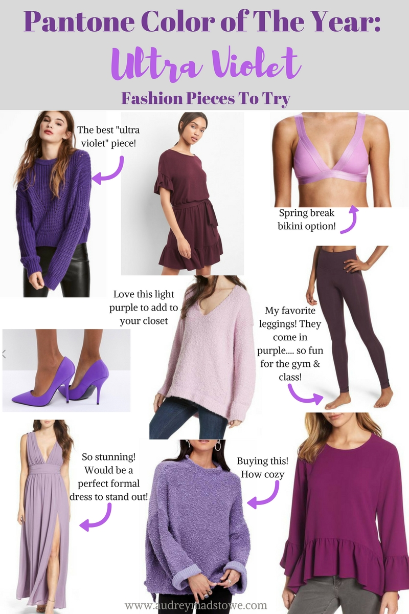 Pantone Color of the Year: Ultra Violet | How to Incorporate into your Wardrobe | Audrey Madison Stowe a fashion and lifestyle blog - Ultra Violet: Pantone Color of The Year by popular Texas style blogger Audrey Madison Stowe
