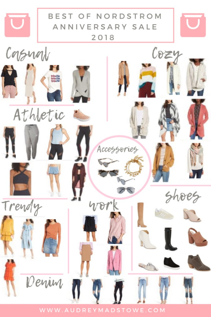 Nordstrom Anniversary Sale Favorites 2018 Roundup featured by popular Texas fashion blogger Audrey Madison Stowe