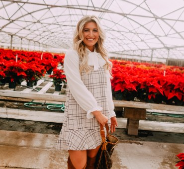The Perfect Dress For Christmas Dinner | Chicwish Plaid Dress | Audrey Madison Stowe a fashion and lifestyle blogger