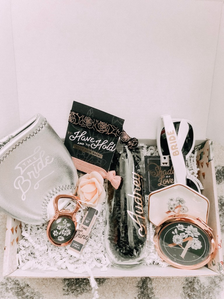 How to Ask your Bridesmaids featured by top US lifestyle blogger Audrey Madison Stowe; Bridesmaid box