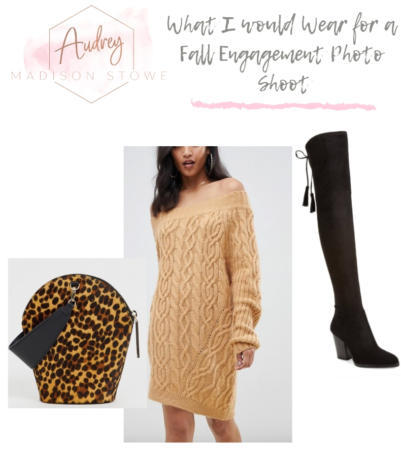 What to Wear For Engagement Photos in the Fall | Audrey Madison Stowe a fashion and lifestyle blogger in Texas