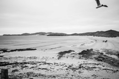 Balnakeil long white beach in the Highlands