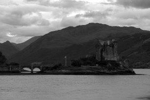 Eilan donan castle, 13th century.