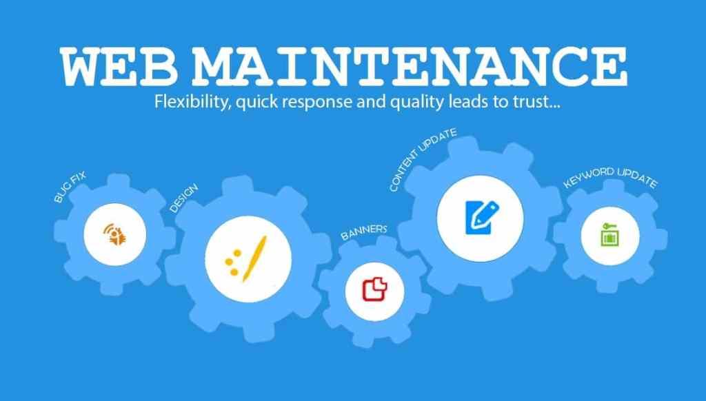 Maintenance de sites internet